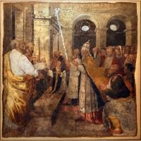 Livio agresti, storie eucaristiche e personaggi dell'antico testamento, miracolo di bolsena, dal duomo di forlì - Sailko - Forlì (FC)