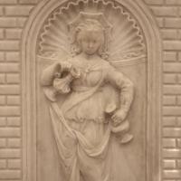 Antonio rossellino, sarcofago del beato marcolino amanni, 1458, da s. giacomo in s. domenico a forlì, virtù, temperanza 02 - Sailko - Forlì (FC)