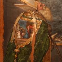 Girolamo marchesi da cotignola, madonna col bambino tra due angeli, santi e il committente (pala orsi), 1520-30 ca., da san mercuriale 03 - Sailko - Forlì (FC)