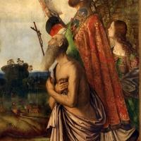 Francesco zaganelli da cotignola, concezione della vergine, 1513, da s. biagio in s. girolamo a forlì, 06 santi tra cui girolamo - Sailko - Forlì (FC)