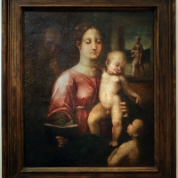 Francesco menzocchi, madonna col bambino e san giovannino - Sailko - Forlì (FC)