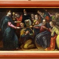 Gian francesco modigliani, storie eucaristiche, 1600-10 ca, dal duomo di forlì, cristo comunica gli apostoli - Sailko - Forlì (FC)