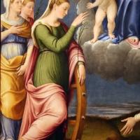 Luca longhi, madonna col bambino con s. caterina, s. orsola e le vergini, 1555, 02 - Sailko - Forlì (FC)
