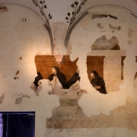 Girolamo Ugolini (attr.), san domenico e i confratelli serviti dagli angeli, 1520 ca. 03 - Sailko - Forlì (FC)