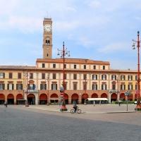 Forlì, piazza aurelio saffi, palazzo municipale 01 - Sailko - Forlì (FC)