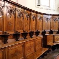 Forlì, santa maria dei servi o san pellegrino, interno, coro del xv secolo 03 - Sailko - Forlì (FC)