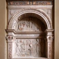 Tommaso fiamberti, monumento funebre di luffo numai, con rilievi di giovanni ricci, 1502-09, 02 - Sailko - Forlì (FC)