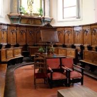 Forlì, santa maria dei servi o san pellegrino, interno, coro del xv secolo 01 - Sailko - Forlì (FC)