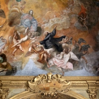 Francesco antonio bondi, gloria di san pellegrino laziosi, 1745 ca. 01 - Sailko - Forlì (FC)