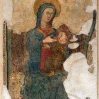 Scuola riminese, madonna col bambino, xiv secolo - Sailko - Forlì (FC)