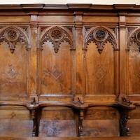 Forlì, santa maria dei servi o san pellegrino, interno, coro del xv secolo 02 - Sailko - Forlì (FC)