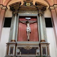 Forlì, santa maria dei servi o san pellegrino, interno, crocifisso ligneo del 1390-1410 ca. 01 - Sailko - Forlì (FC)