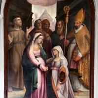 Stradano, visitazione, 1599, 03 - Sailko - Galeata (FC)