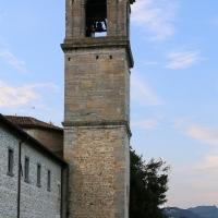Pianetto (galeata), santa maria dei miracoli, esterno, campanile attr. all'ammannati, 02 - Sailko - Galeata (FC)