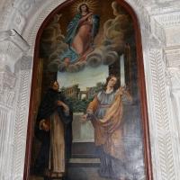Italia centrale, assunta tra i ss. vincenzo ferrer e marta, 1700-50 ca. 01 - Sailko - Galeata (FC)