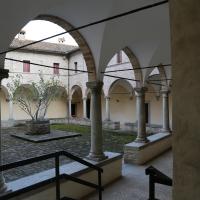 Pianetto (galeata), santa maria dei miracoli, esterno, chiostro 02 - Sailko - Galeata (FC)