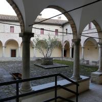 Pianetto (galeata), santa maria dei miracoli, esterno, chiostro 01 - Sailko - Galeata (FC)