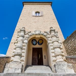 Rocca Vescovile di Bertinoro - Rocca Vescovile di Bertinoro, portale d'ingresso, 1583 foto di: |Marco Anconelli| - Centro Residenziale Universitario di Bertinoro