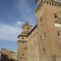 Castello Estense da Largo Castello - Tommaso Trombetta - Ferrara (FE)