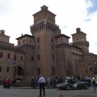 """Castello Estense durante """"autostoriche in centrostorico 2010"""" - Tommaso Trombetta - Ferrara (FE)"""