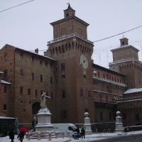 Castello Estense innevato - Tommaso Trombetta - Ferrara (FE)