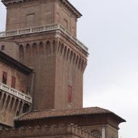 Torrette dei Leoni (Castello Estense) danneggiata dal terremoto del 20 maggio 2012 - Tommaso Trombetta - Ferrara (FE)