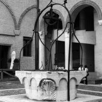 Ferrara - Castello Estense, il pozzo del cortile interno. - Emanuele Schembri - Ferrara (FE)