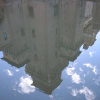 Castello Estense riflesso nel fossato - Tommaso Trombetta - Ferrara (FE)