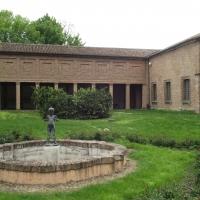 Fontanella nel giardino interno della Palazzina Marfida d'Este - Tommaso Trombetta - Ferrara (FE)