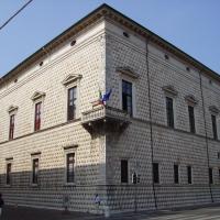 Palazzo Diamanti angolo tra Corso Biagio Rossetti e Corso Ercole I d'Este - Tommaso Trombetta - Ferrara (FE)