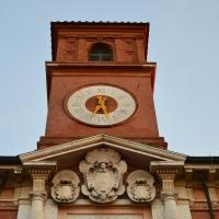 Torre con orologio Palazzo Paradiso - Tommaso Trombetta - Ferrara (FE)