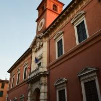 Facciata Palazzo Paradiso 1 - Tommaso Trombetta - Ferrara (FE)