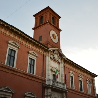 Facciata Palazzo Paradiso 2 - Tommaso Trombetta - Ferrara (FE)
