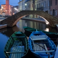 Batane, ponte. torre dell'orologio - Vanni Lazzari - Comacchio (FE)