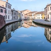 Panoramica di Via Agatopisto - Comacchio - Vanni Lazzari - Comacchio (FE)