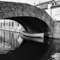 Ponte San Pietro -- - Vanni Lazzari - Comacchio (FE)