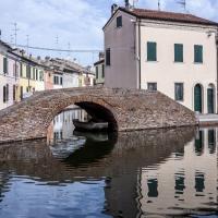 Ponte dei Sisti - riflessi - Vanni Lazzari - Comacchio (FE)