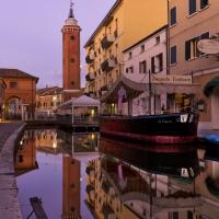 Centro storico Comacchio con i sui ponti