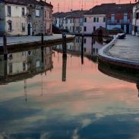 Comacchio al tramonto - Vanni Lazzari - Comacchio (FE)