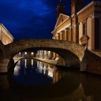 Ponte degli Sbirri con antico Ospedale degli Infermi - Vanni Lazzari - Comacchio (FE)