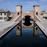 Trepponti con riflessi - Vanni Lazzari - Comacchio (FE)