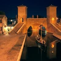 Trepponti - notturno - Vanni Lazzari - Comacchio (FE)