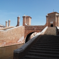 Veduta ravvicinata del Ponte Trepponti - Tommyceru - Comacchio (FE)