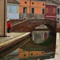 Ponte sul canale di Comacchio - Paola Focacci - Comacchio (FE)