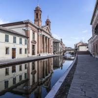 Antico Ospeale degli infermi - riflessi - Vanni Lazzari - Comacchio (FE)