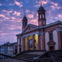 Ospedale degli infermi al tramonto - Vanni Lazzari - Comacchio (FE)