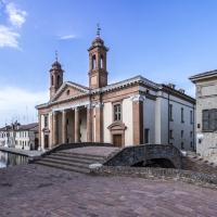 Antico Ospedale degli Infermi visto dal Ponte degli Sbirri - Vanni Lazzari - Comacchio (FE)