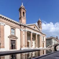 Antico Ospedale degli infermi in prospettiva - Vanni Lazzari - Comacchio (FE)