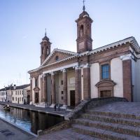 Antico Ospedale degli Infermi - visto dal ponte degli sbirri - Vanni Lazzari - Comacchio (FE)