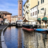 Torre dell'orologio - Civica - Vanni Lazzari - Comacchio (FE)